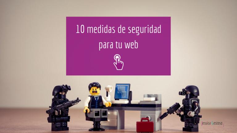 medidas seguridad web