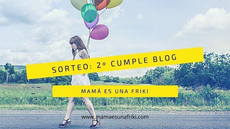 Sorteo: segundo cumple-blog
