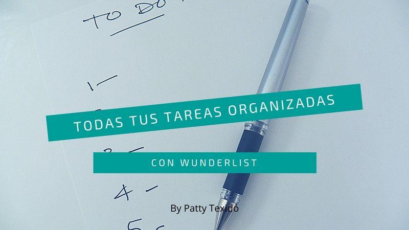 wunderlist tareas organizadas