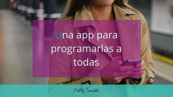 Una app para programarlas a todas