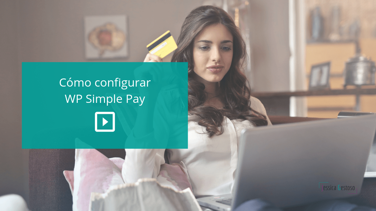 como configurar wp simple pay