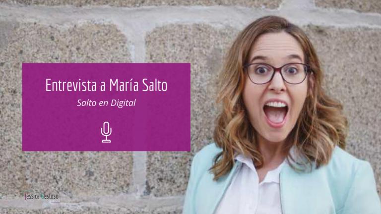 Redes sociales con María Salto